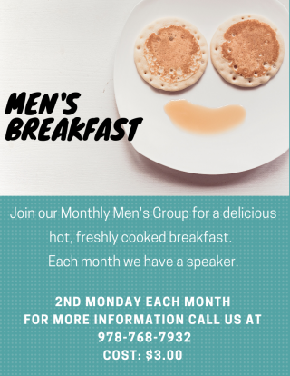 Men's Breakfast Flyer